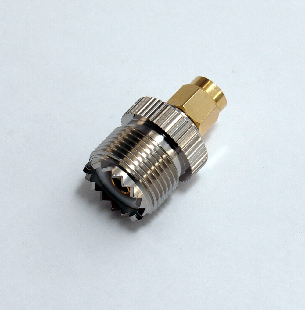 SMA Male to SO239 [PL259 Female] Adapter