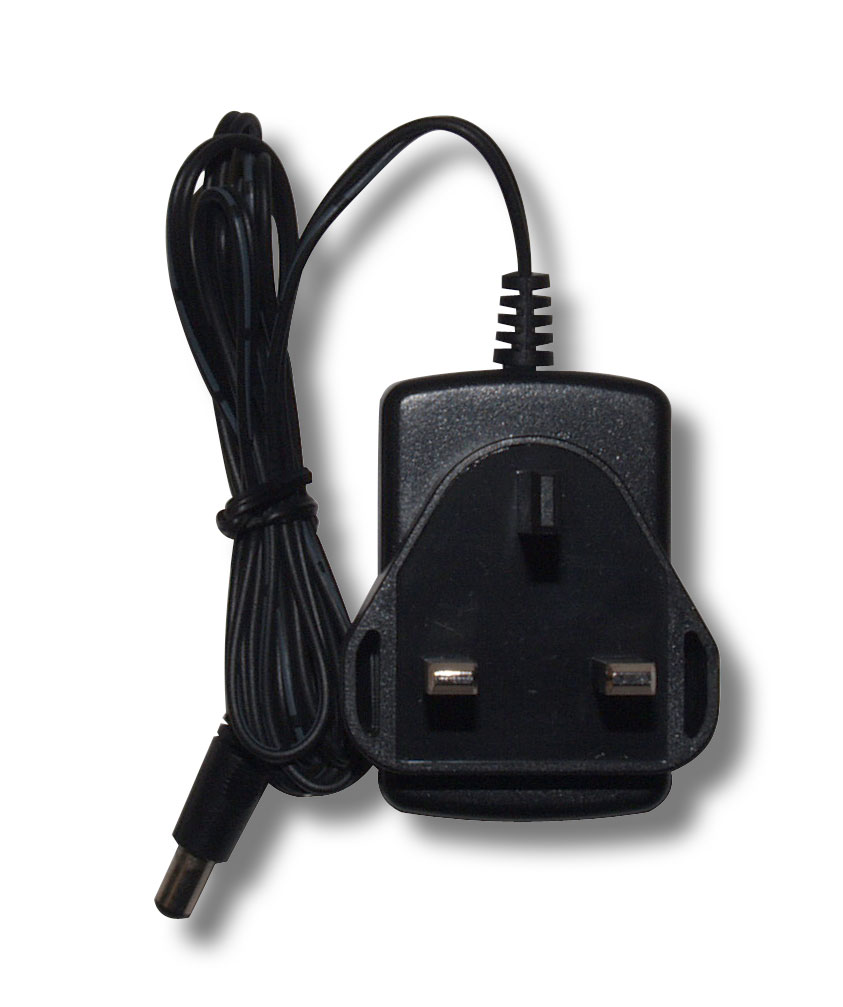 Mains Charger with 3-pin UK Plug for Baofeng UV-5R, UV-B5, UV-82, B-580T & GT-3 handheld transceivers