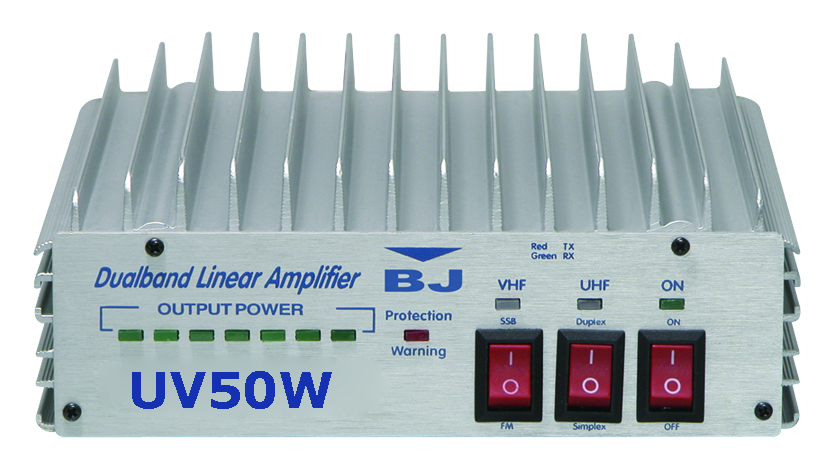 Baojie BJ-UV50W Dualband 2m/70cm 50 Watt Linear Amplifier