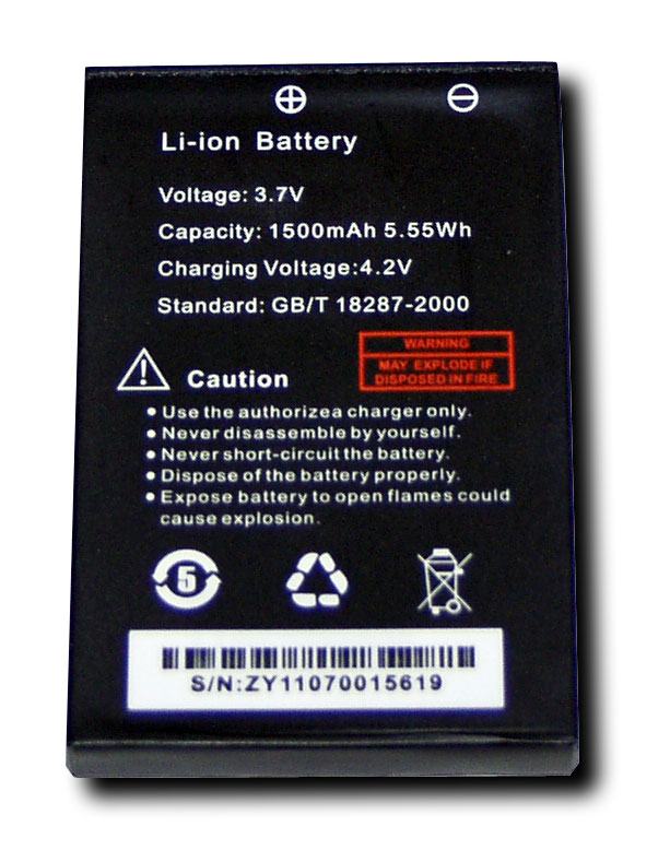 Spare Battery for Vero UV-X4, Baofeng UV-3R (not Plus). Also fits Yaesu VX-2 & VX-3