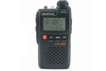 Baofeng UV-3R 2m/70cm dualband handheld transceiver with dual frequency display
