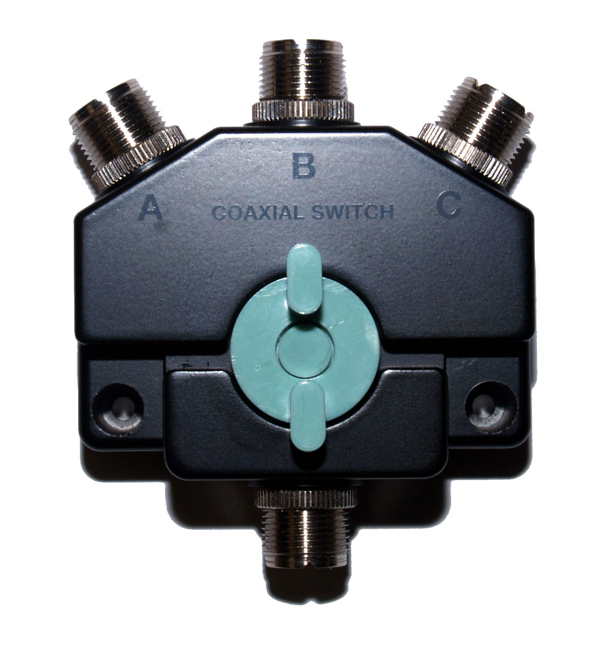 CO-301 Three-way heavy duty coaxial antenna switch
