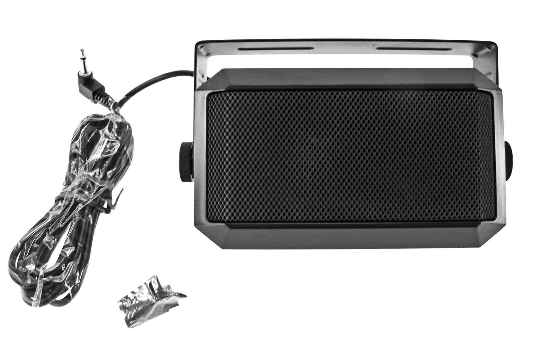 8 ohm External Speaker with mounting bracket & 3.5 mm mono plug