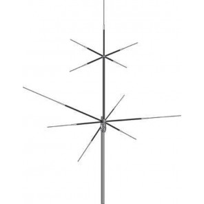 HVU-8 Broadband (HF/VHF/UHF) Multi-element Vertical Base Antenna