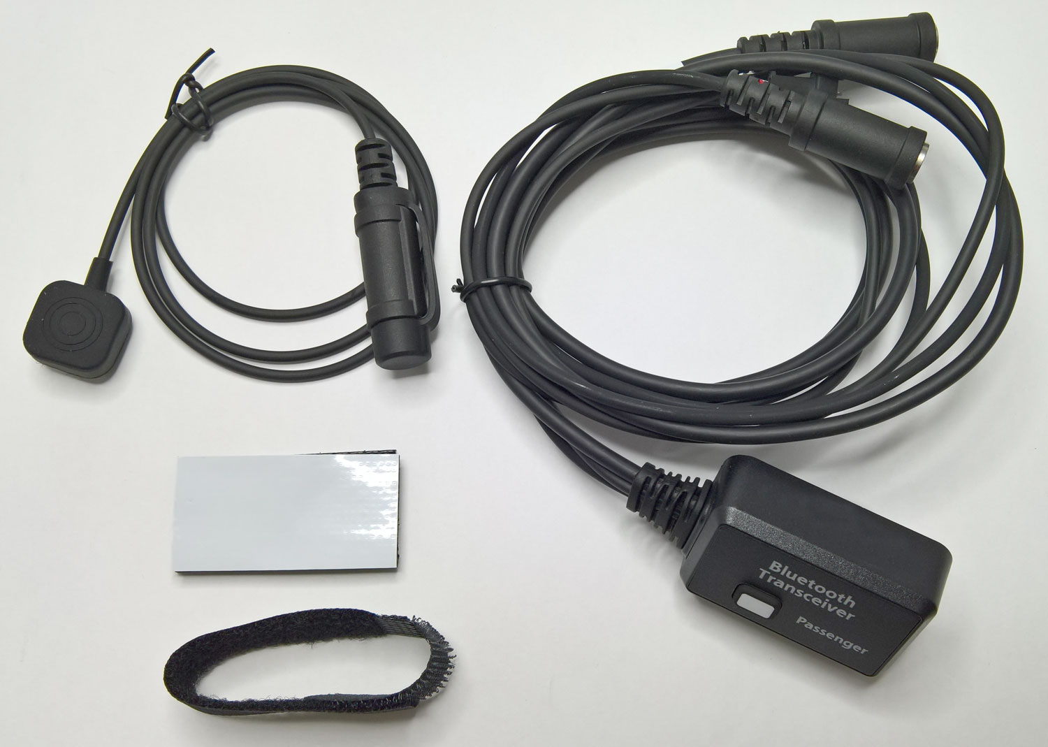 Bluetooth add-on module for passenger headset for LP-MR200-S-E PMR 446 Motorcycle radio communication system