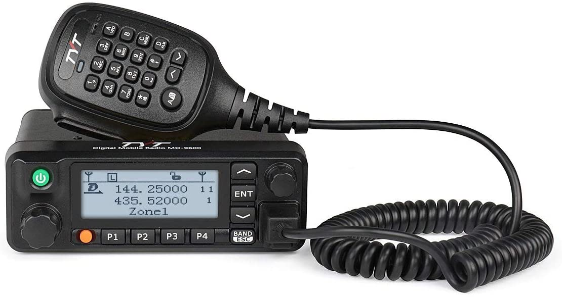 TYT MD-9600 Dual-band VHF/UHF Mobile DMR Transceiver