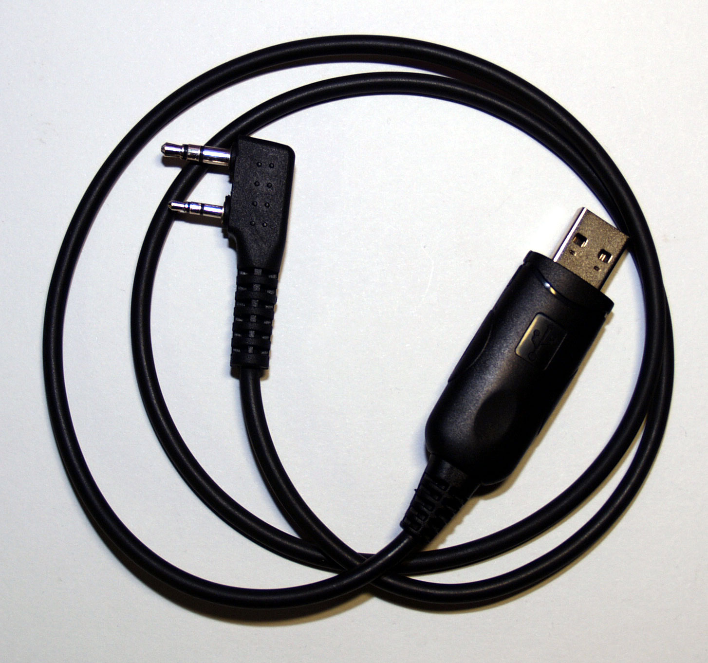 USB Programming Cable for Baofeng UV-5R, Quansheng TG-007, TYT TH-UVF8/9, TH-446, X-3 & Vero VR-500 tr