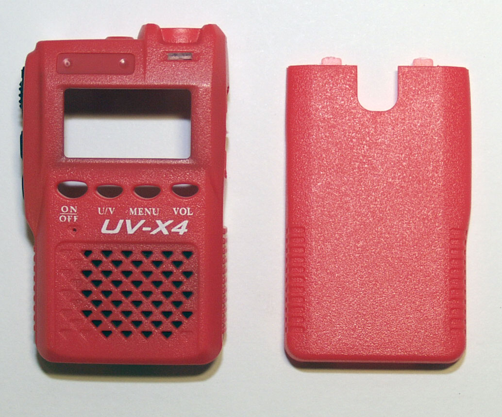 Red Outer Housing for Vero Telecom UV-X4 transceiver